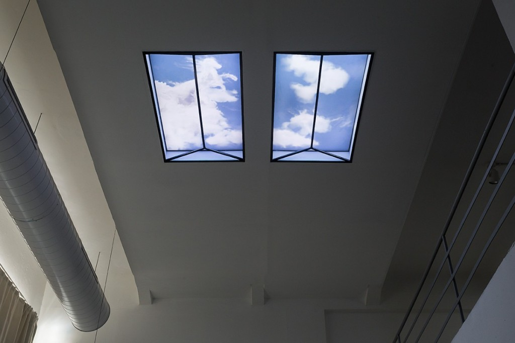 LE_Skylight, Installation view