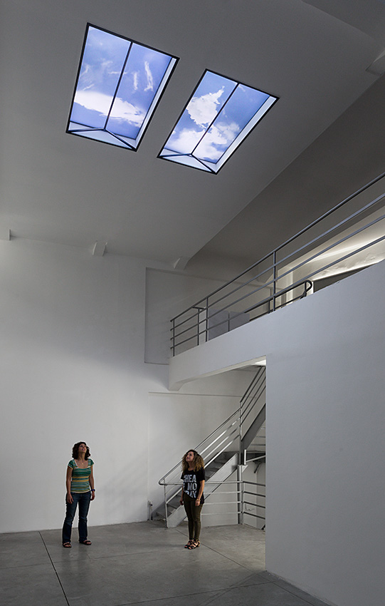 Mirrors_Skylight, Installation view