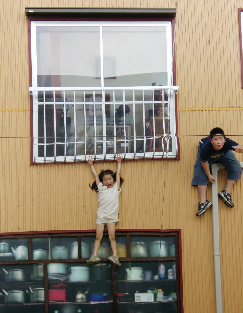 Leandro Erlich, Tsumari House, 2006, Echigo Tsumari Art Triennal, Japan
