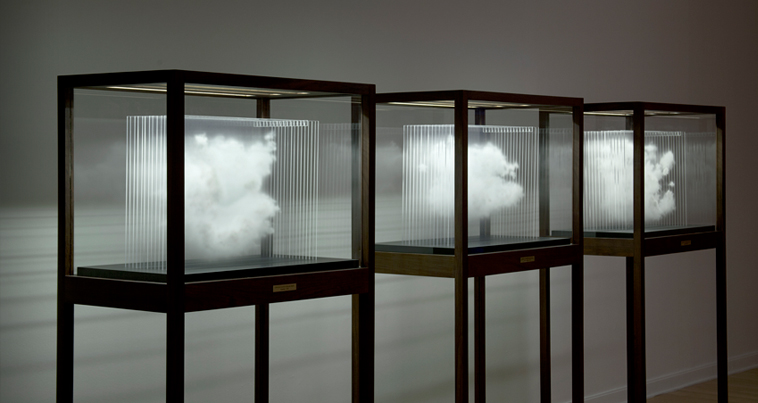 Leandro Erlich, Single Cloud Collection, 2012, Installation view
