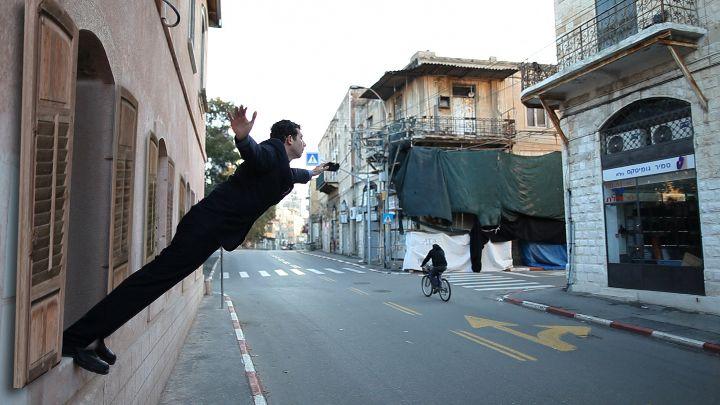 Shahar Marcus, Still from Leap of Faith, 2010, Video, 03:03 min