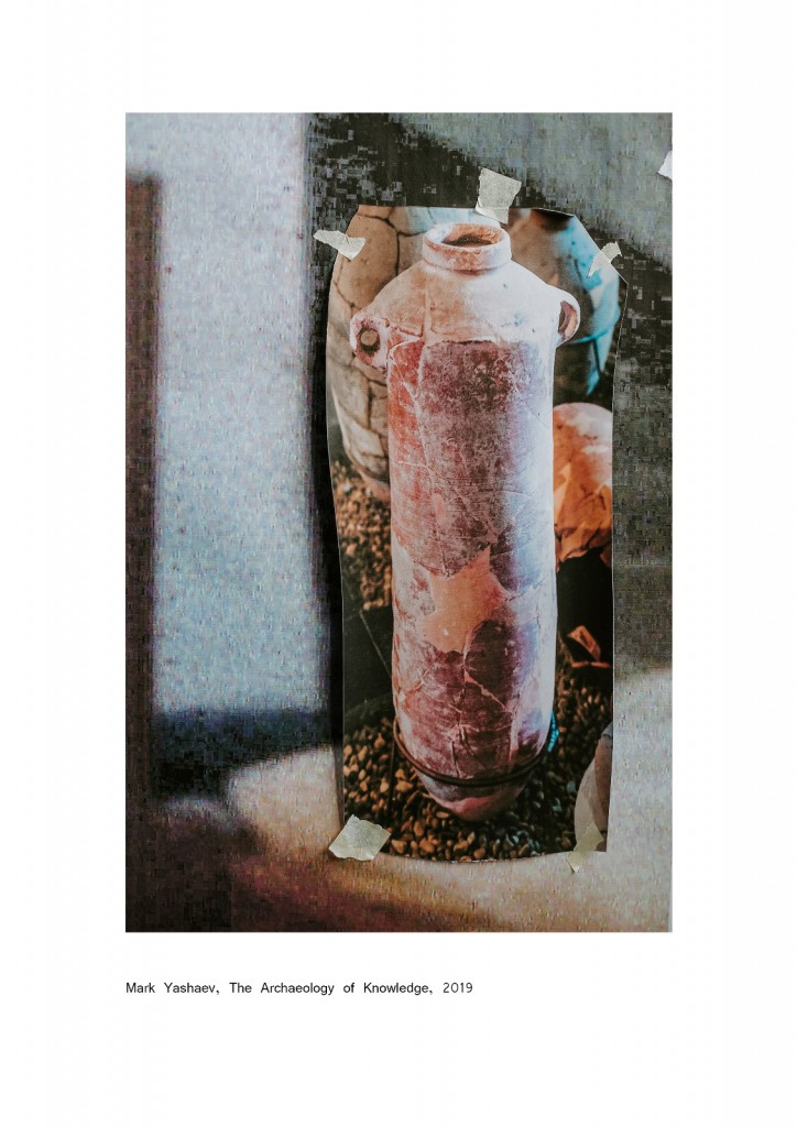 Mark Yashaev, Untitled, from The Archeology of Knowledge, 2019, 30x20 cm