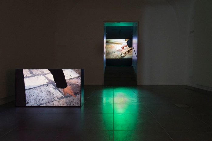 Installation view, Ana Ticho House, the Israel Museum