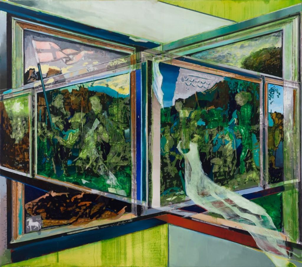 Oren Eliav, Transfiguration, 2019, oil on canvas, 200 x 230 cm