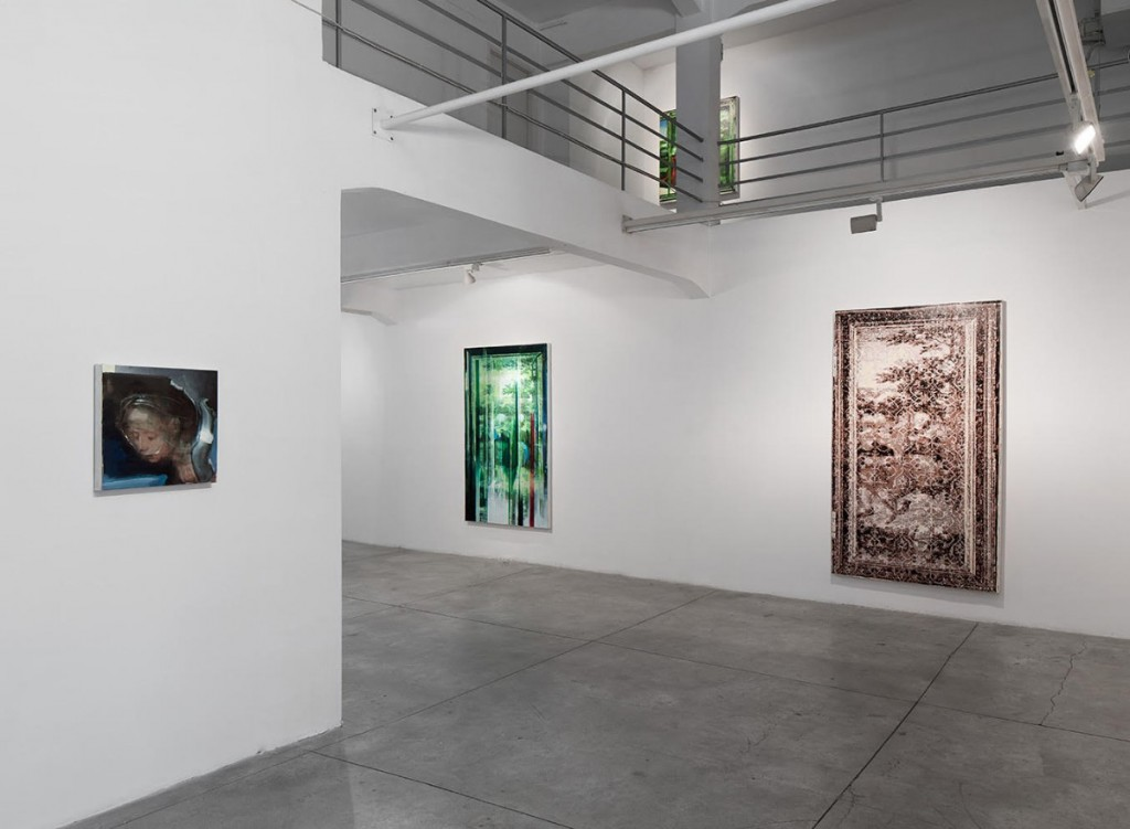 Oren Eliav, Installation view, photo by Elad Sarig