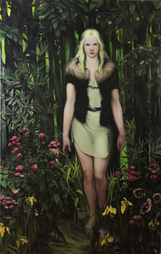 iljana Djurdjevic, Rising, 2011, 203 x 130 cm