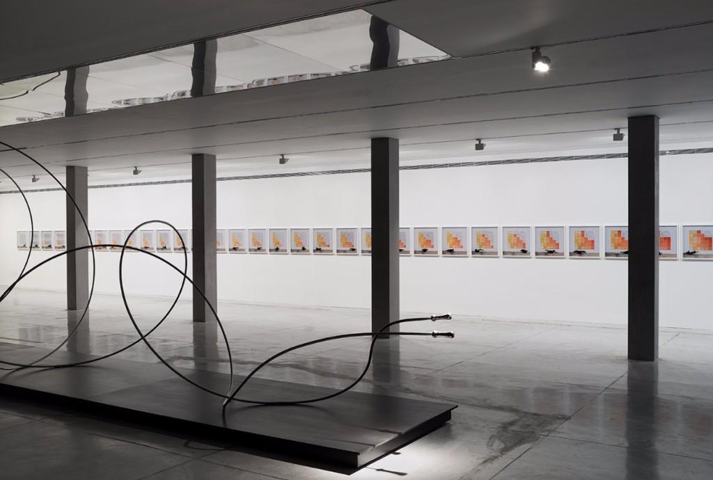Installation shot from Under the Sun at the Tel Aviv Museum of Art