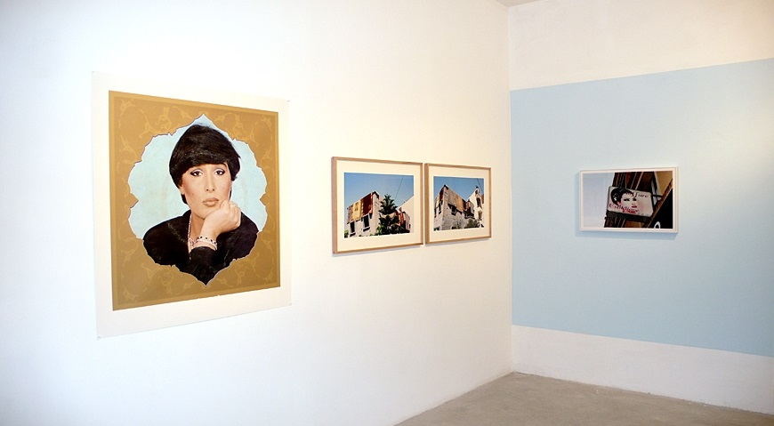 Every Monkey is a Gazelle in His Mother's Eyes , Installation view, Braverman Gallery, 2009