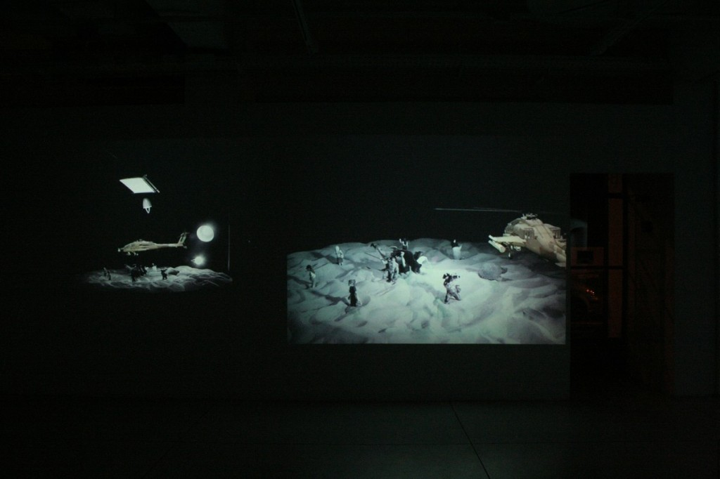 Roundabout, Installation view