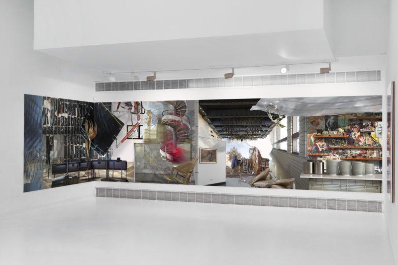Ilit Azoulay, Regarding Silences, Installation view, CCA Tel Aviv, 2019