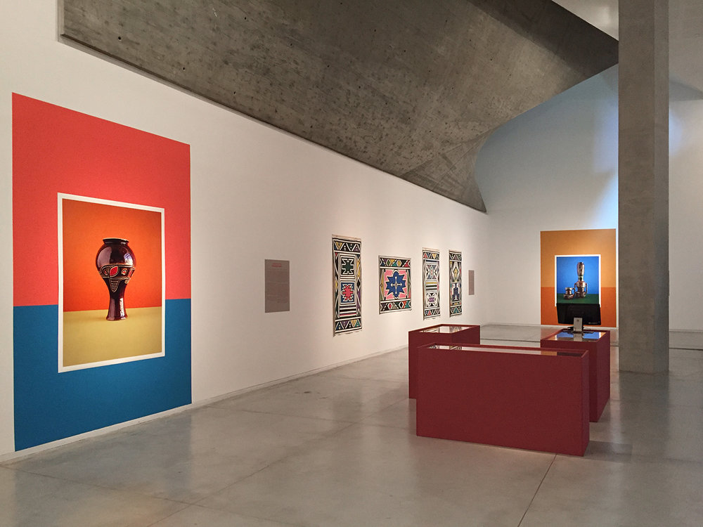 Regarding Africa, Installation view, Tel Aviv Museum of Art, 2017