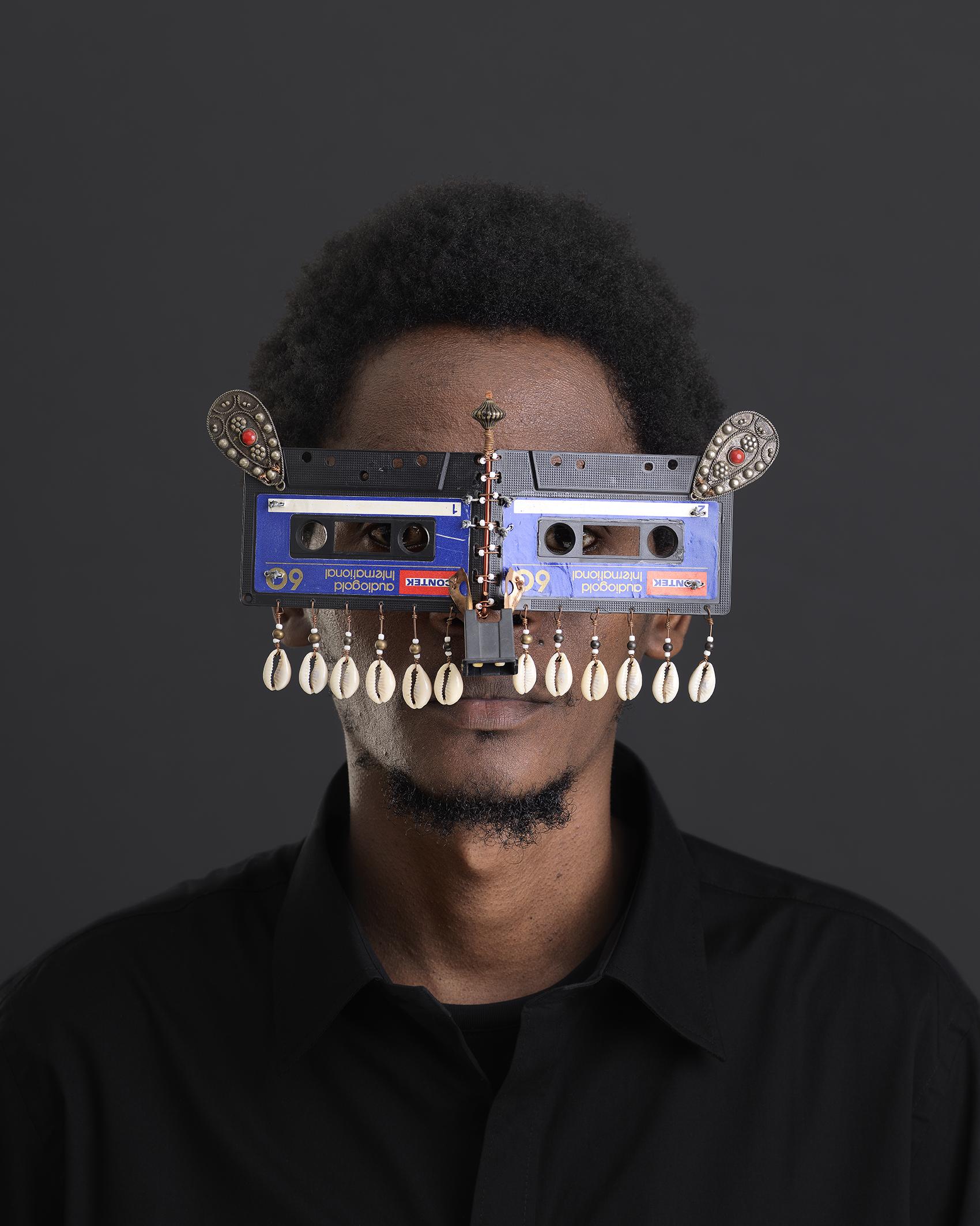 Cyrus Kabiru, Njia Ya Maisha, Macho Nne - Throwback, 2016, Pigment Ink, 150 x 120 cm