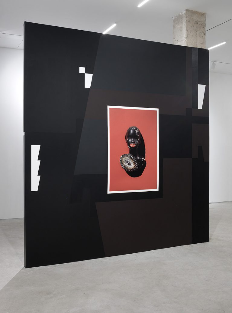 David Adika, Black Market, Braverman Gallery, Tel Aviv, 2020. Photo: Elad Sarig
