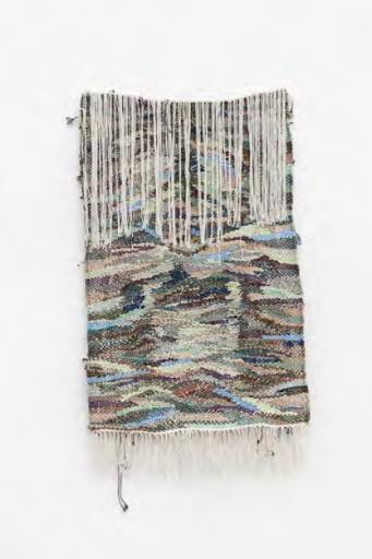 Igshaan Adams, Prayer Rug 15,2019 Nylon rope, cotton twine, polyester 160 x 88 x 6 cm