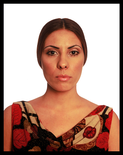 David Adika, Khen Shish, 2002, 125 x 165 cm (Mother Tongue Portraits)