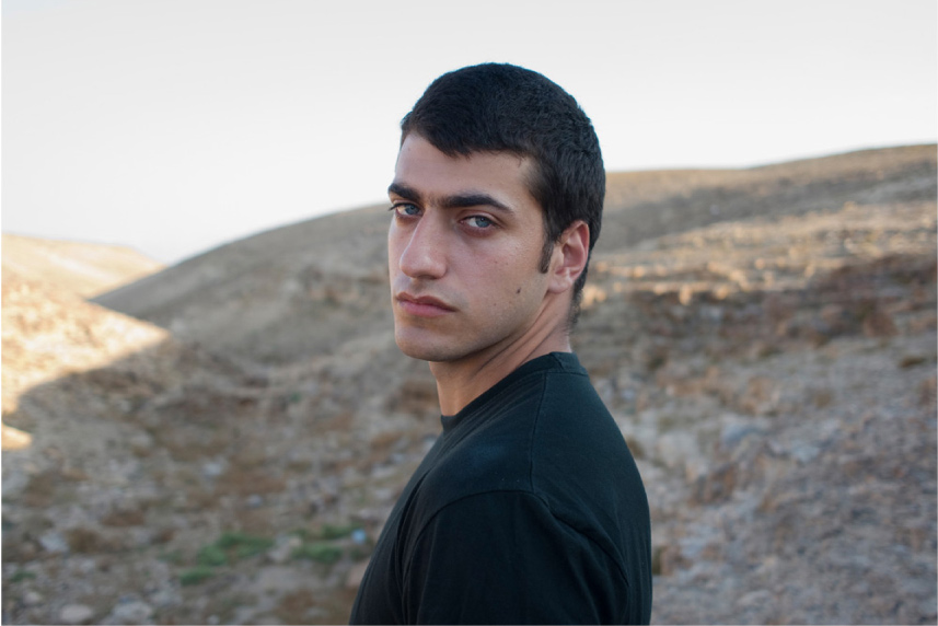 Ran Bechor (Actor, 'Edut') South of Israel 2010