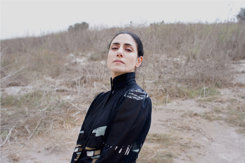 Ronit Elkabetz (Actor, 'Edut') North of Israel 2010
