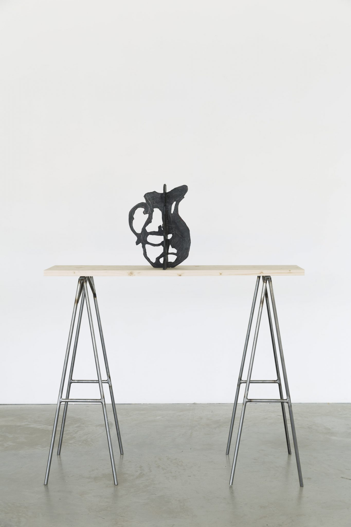 William Kentridge, Shadow Figure III, 2016, Bronze, 30 x 42 x 26 cm