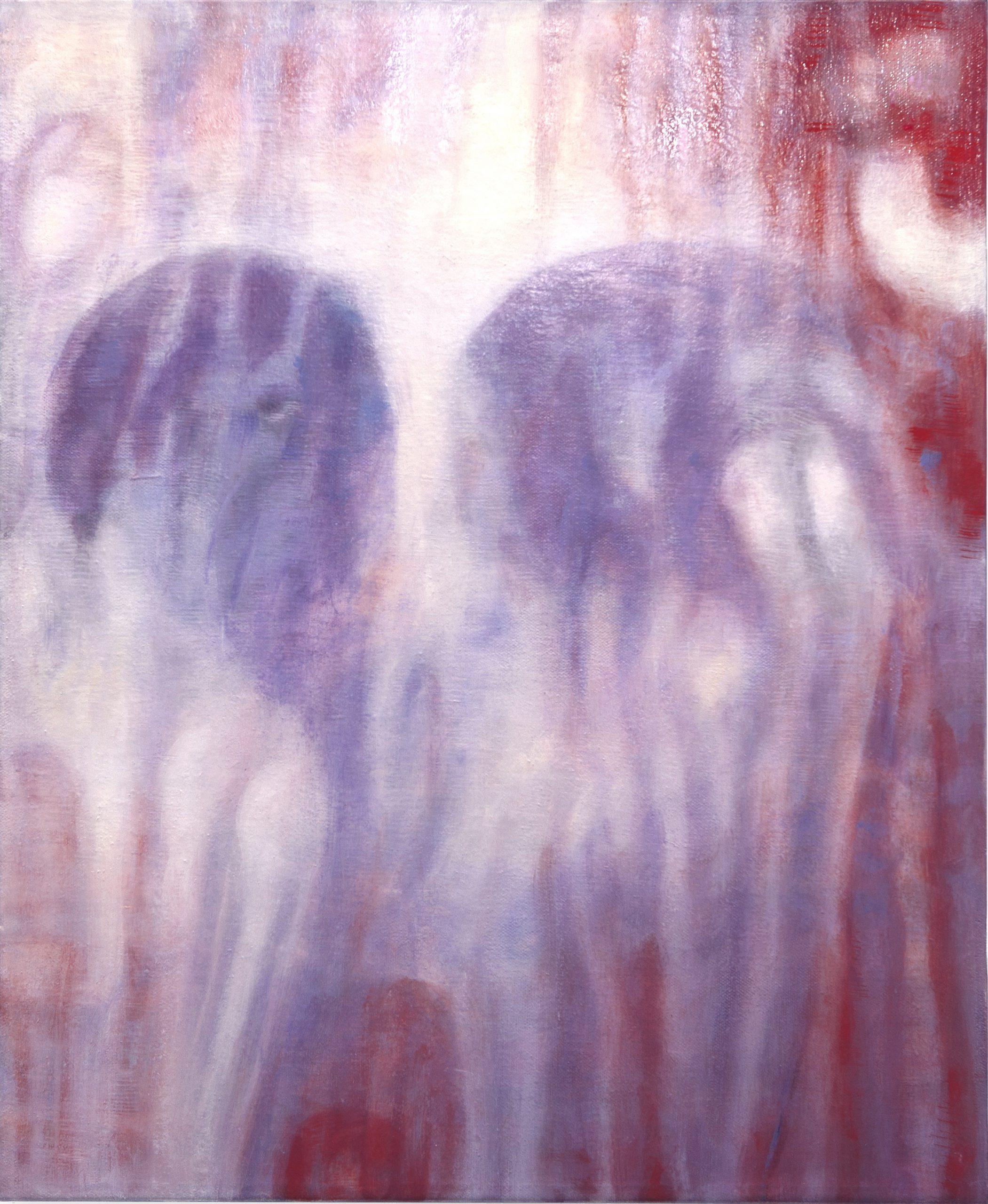 Bracha L. Ettinger, Eurydice n.52 - Pietà, 2012-2016, Oil on canvas, 50x41 cm