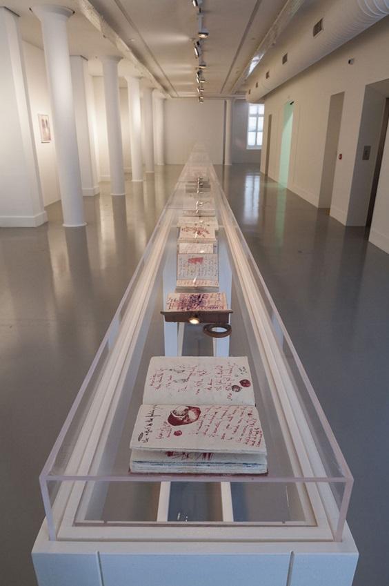 Bracha L. Ettinger_Istanbul Biennial_Installation Pics3
