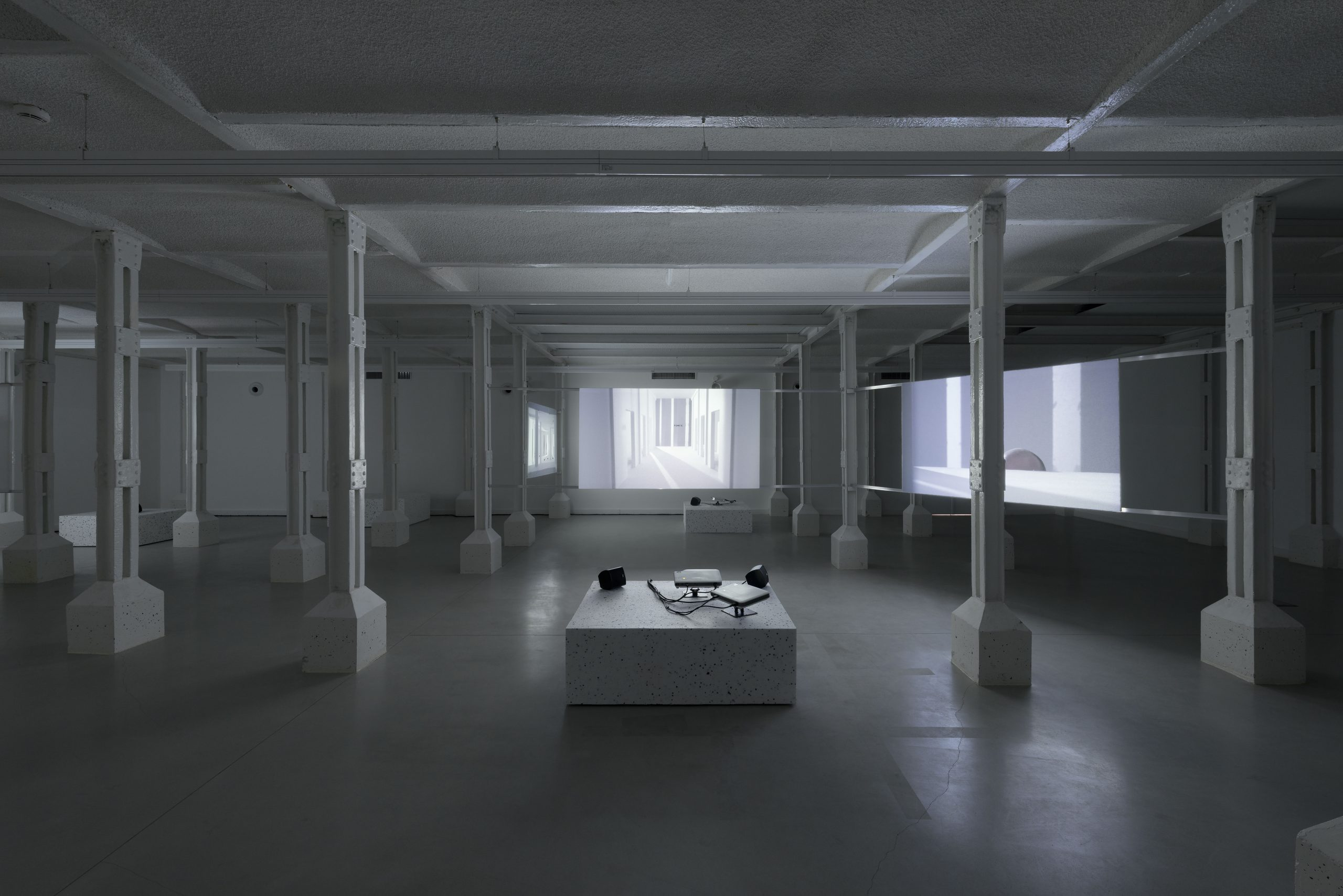 Gilad Ratman, Four Works, installation view at Trafo, 2015