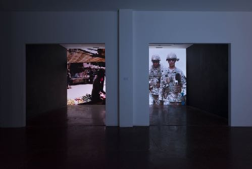 I cant believe its not battle -Melt away before you, Installation view LAXART, 2018