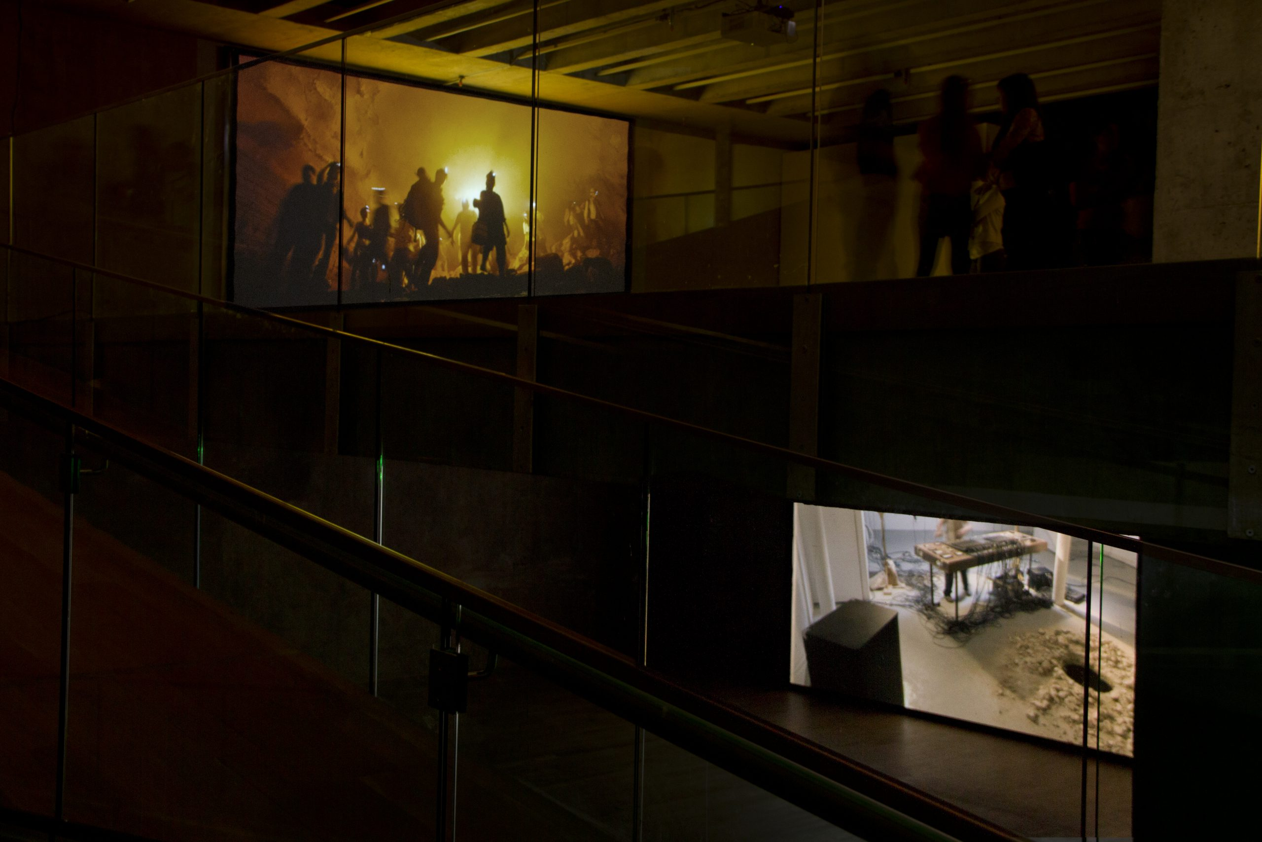 Gilad Ratman, The Workshop, Installation View, MACBA, 2014