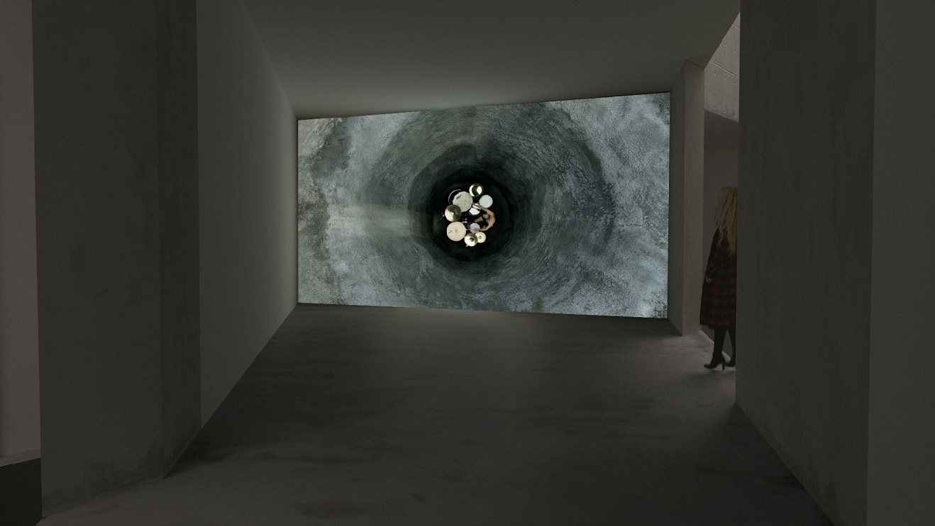 Gilad Ratman, Drummerrsss, 2020, installation view demo