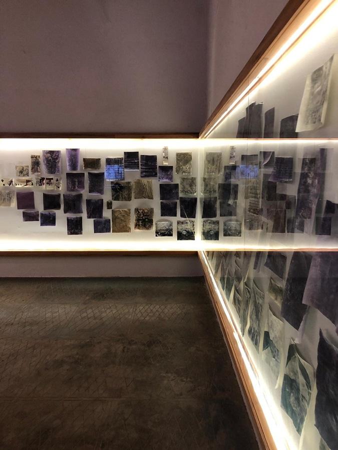 Bracha Ettinger Installation view, Kochi Biennial 2018 (2)