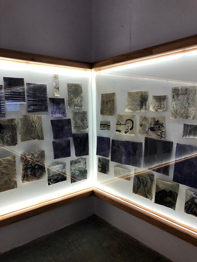 Bracha Ettinger Installation view, Kochi Biennial 2018 (4)