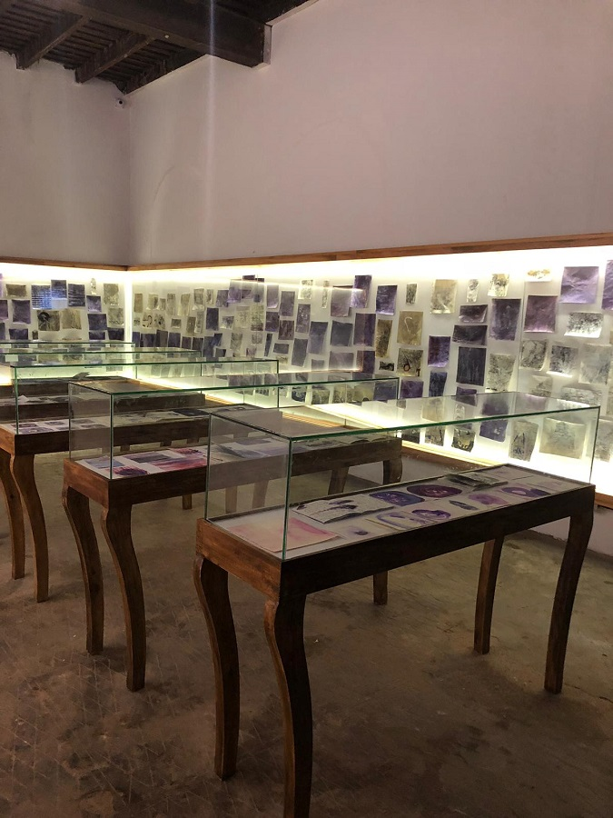 Bracha Ettinger Installation view, Kochi Biennial 2018