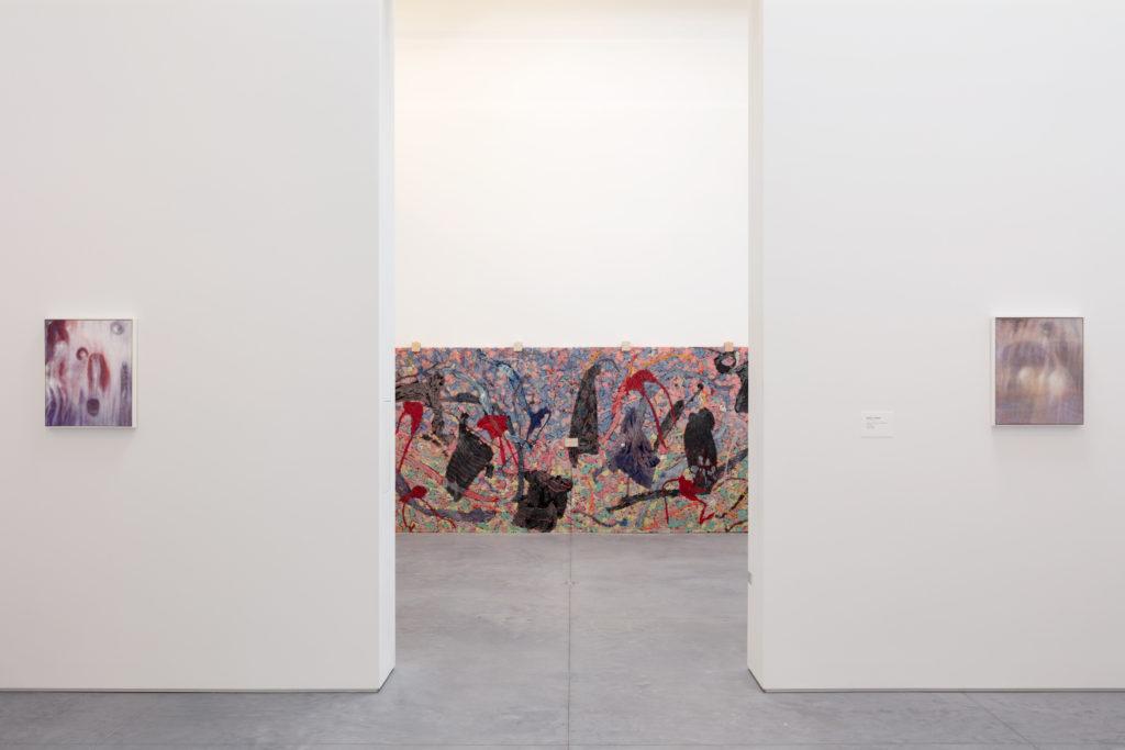 Bracha L. Ettinger, installation view, The Warehouse, Dallas, 2020