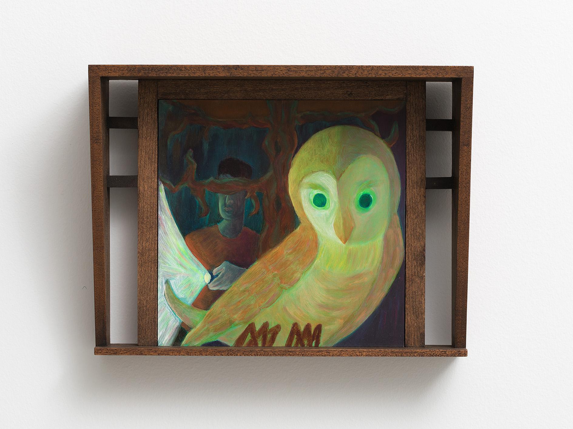 Damien H. Ding, Owl, 2020