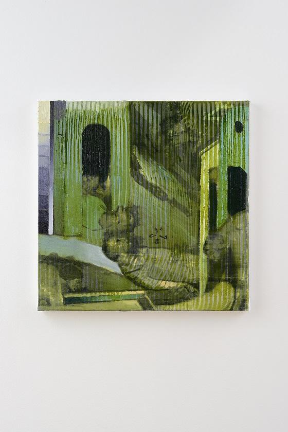 Oren Eliav, Elevation (Second  Dream), 2020, oil on canvas, 50 x 50 cm