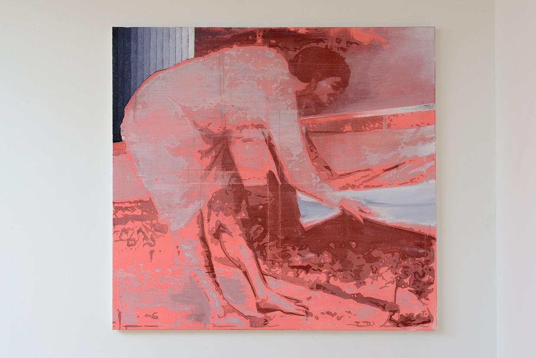 Oren Eliav, Equalizer I, 2020, oil on canvas, 150 x 160 cm