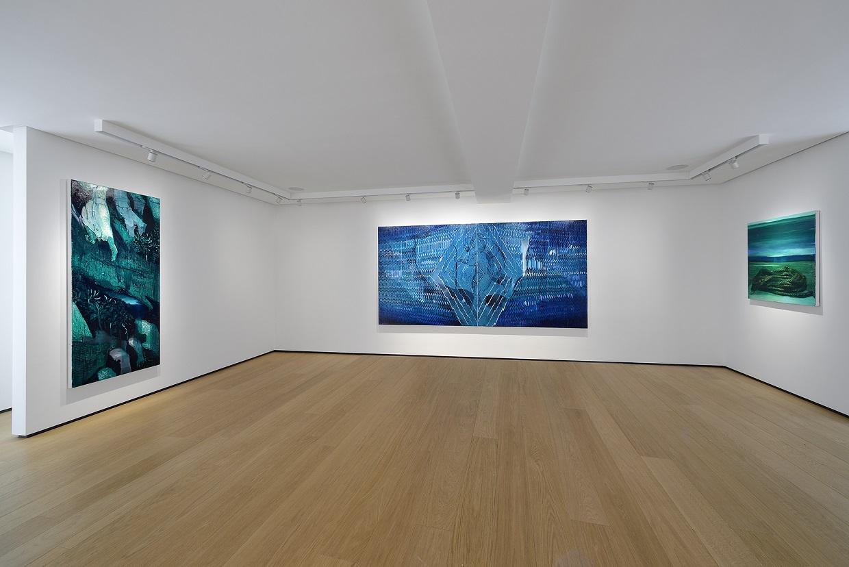 Oren Eliav, Mount Zero, 2020, installation view 'Crossing at Night' (Third Floor), BUILDING, Milan