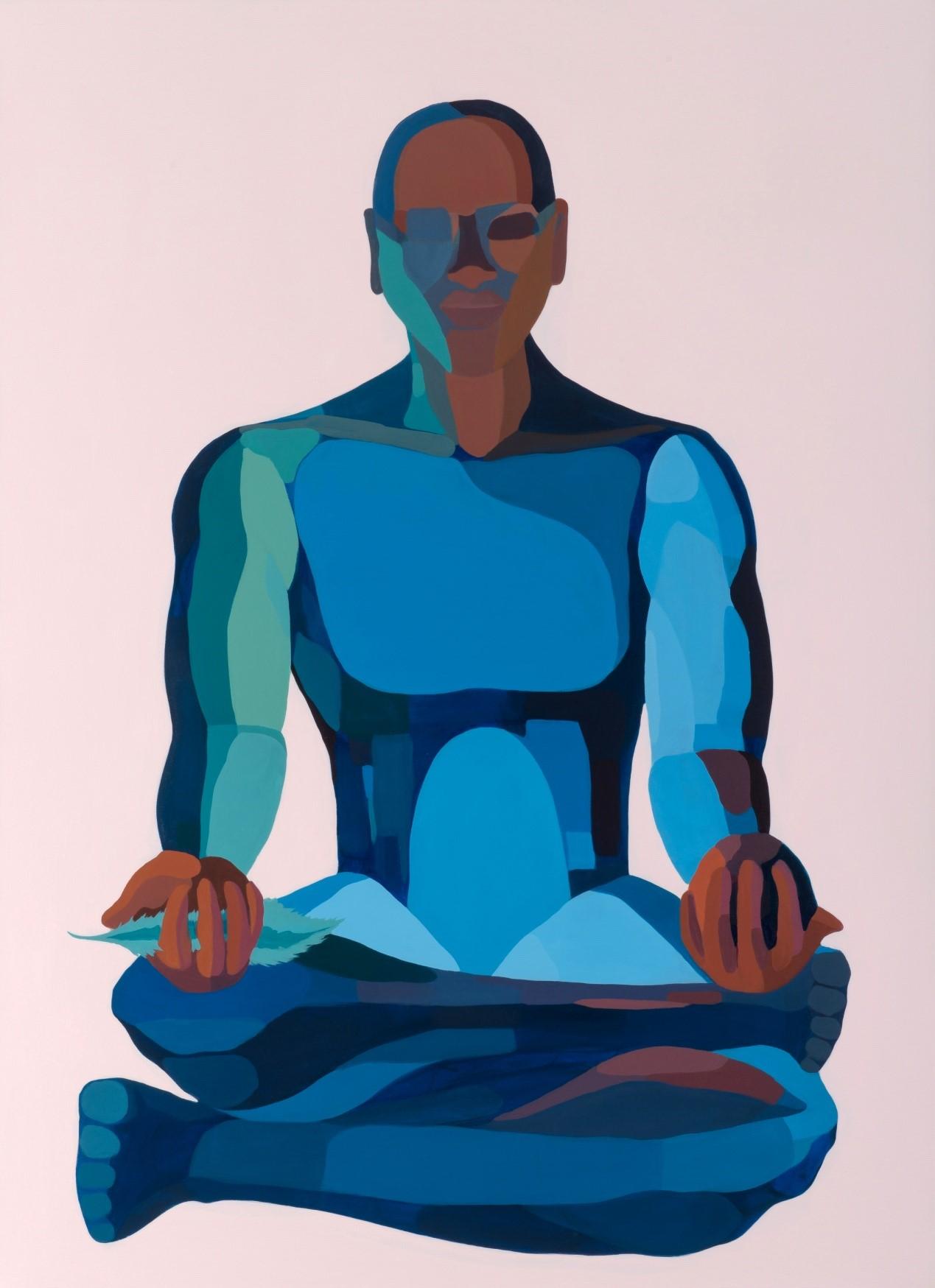 Nirit Takele, Scale, 110x80 cm, acrylic on canvas, 2017