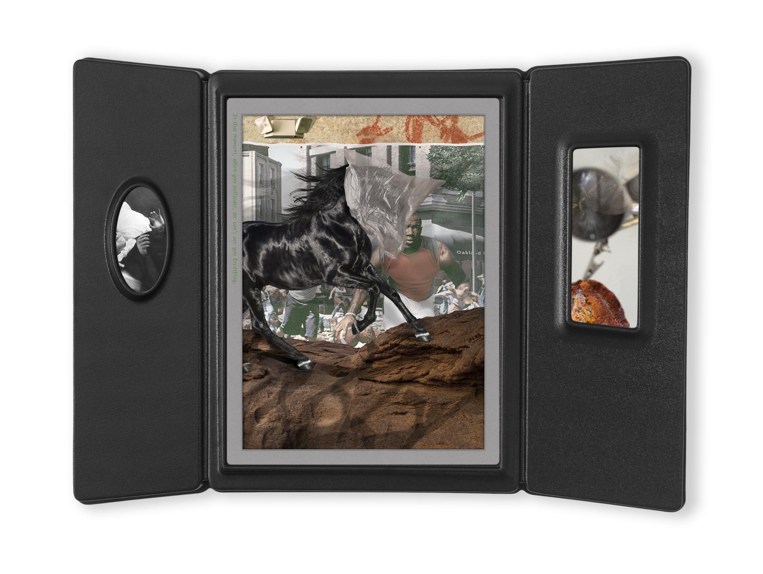 Eleonore (case 4008), inkjet prints, acrylic face mount, vacuum formed frame, 51.5x70x5 cm