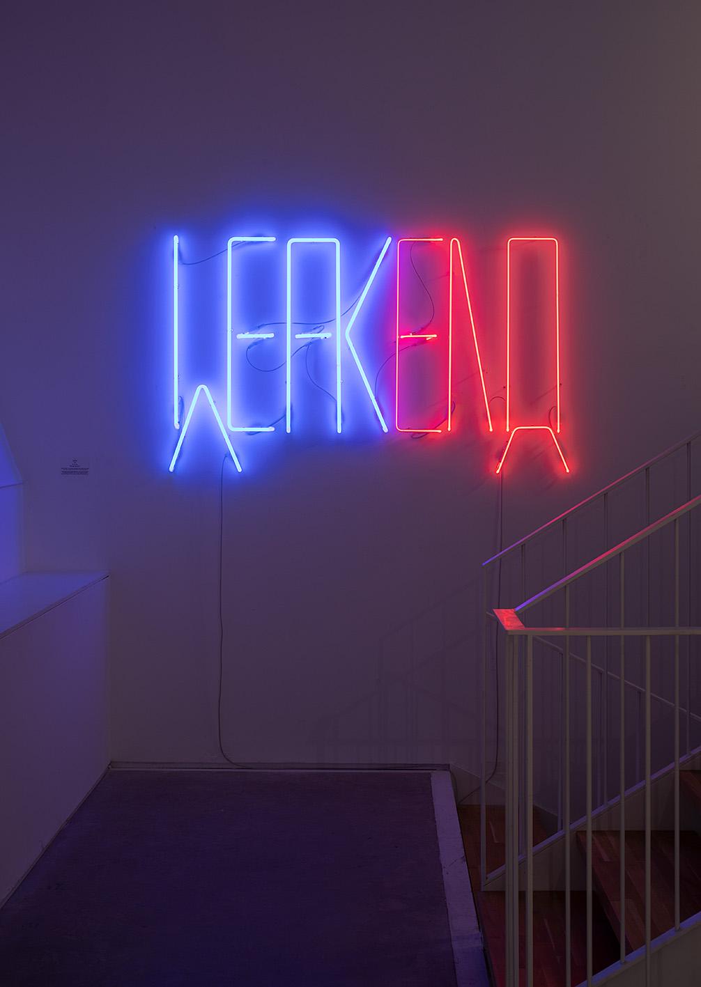 Weakend, Neon light, 2020-2021