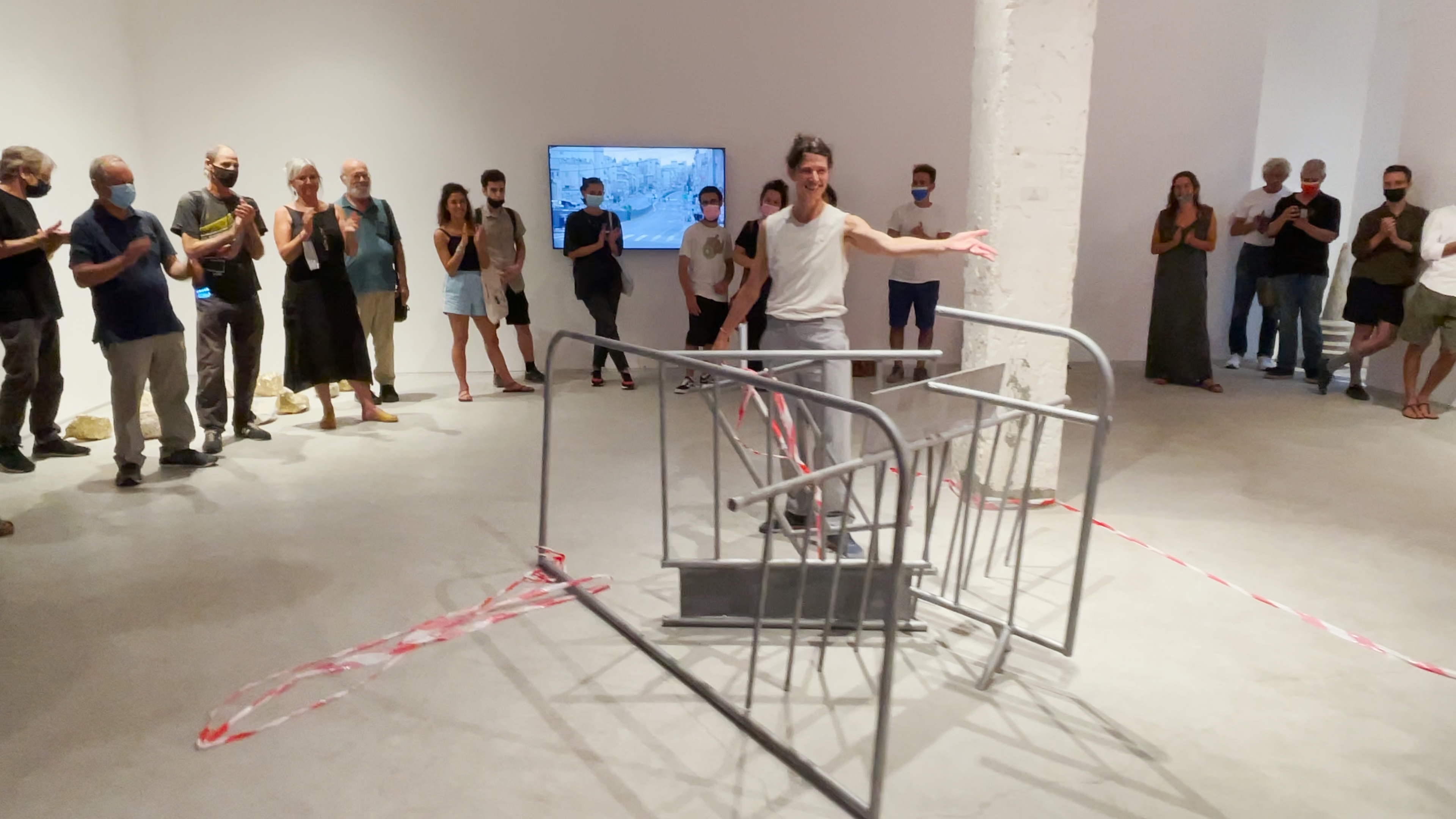 Opening night with performance by Iris Erez, July 8th, 2021
